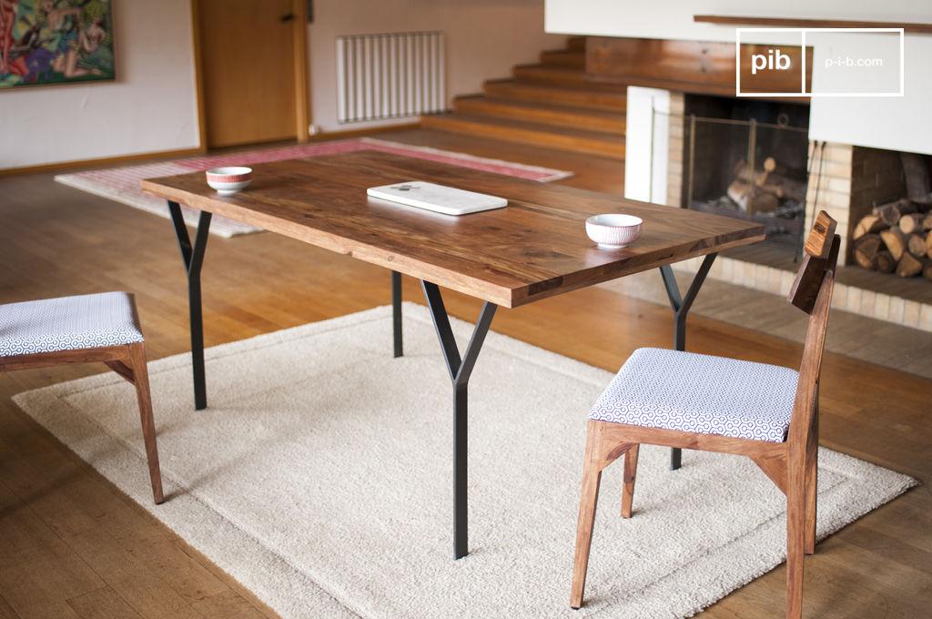 Table de repas mabillon un design filiforme pour une pib - Table de repas design italien ...