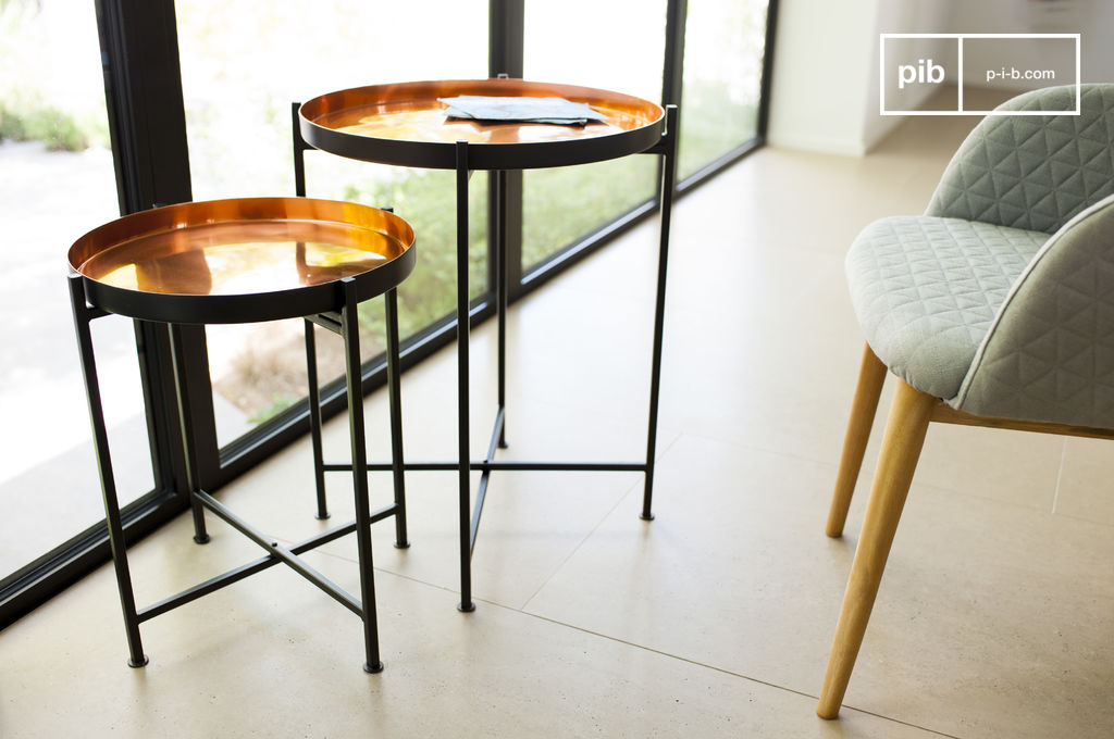 Table gigogne lloyd praticit d 39 une table modulable pib for Table gigogne