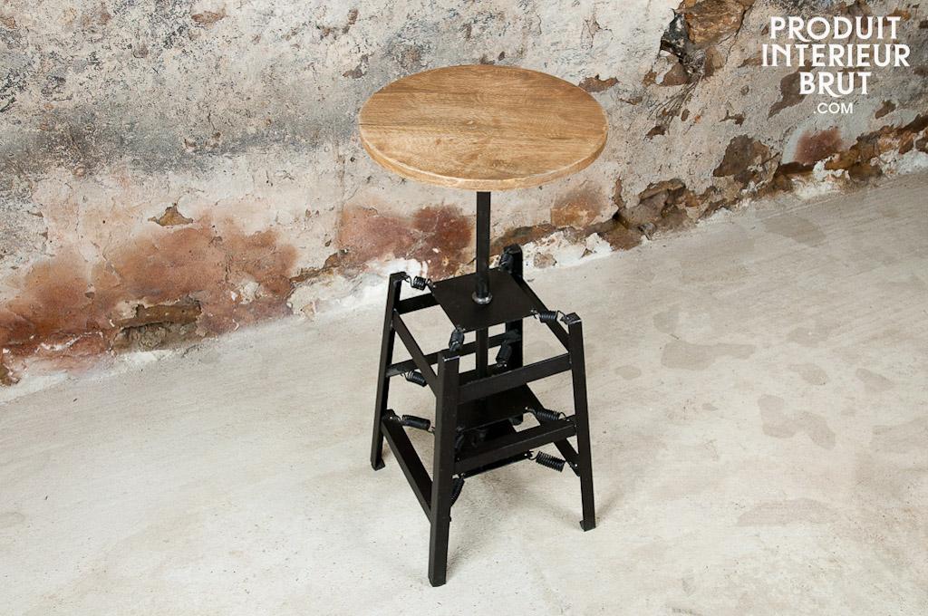 tabouret de bar ressorts un si ge de bar confortable pib. Black Bedroom Furniture Sets. Home Design Ideas