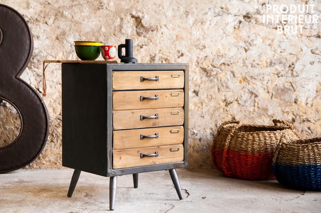 Commode van ness meuble atelier l 39 esprit meuble for Muebles de estilo industrial barato