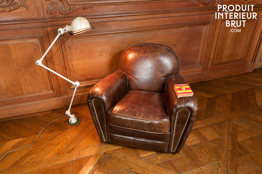 Achetez un fauteuil club vintage industriel
