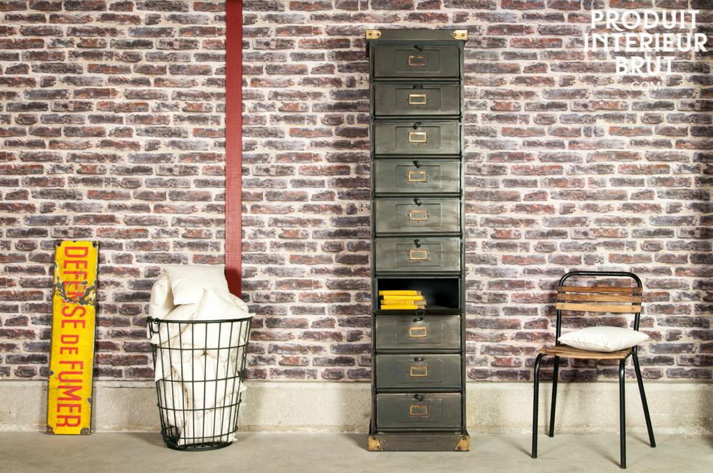 Acheter un meuble casier industriel