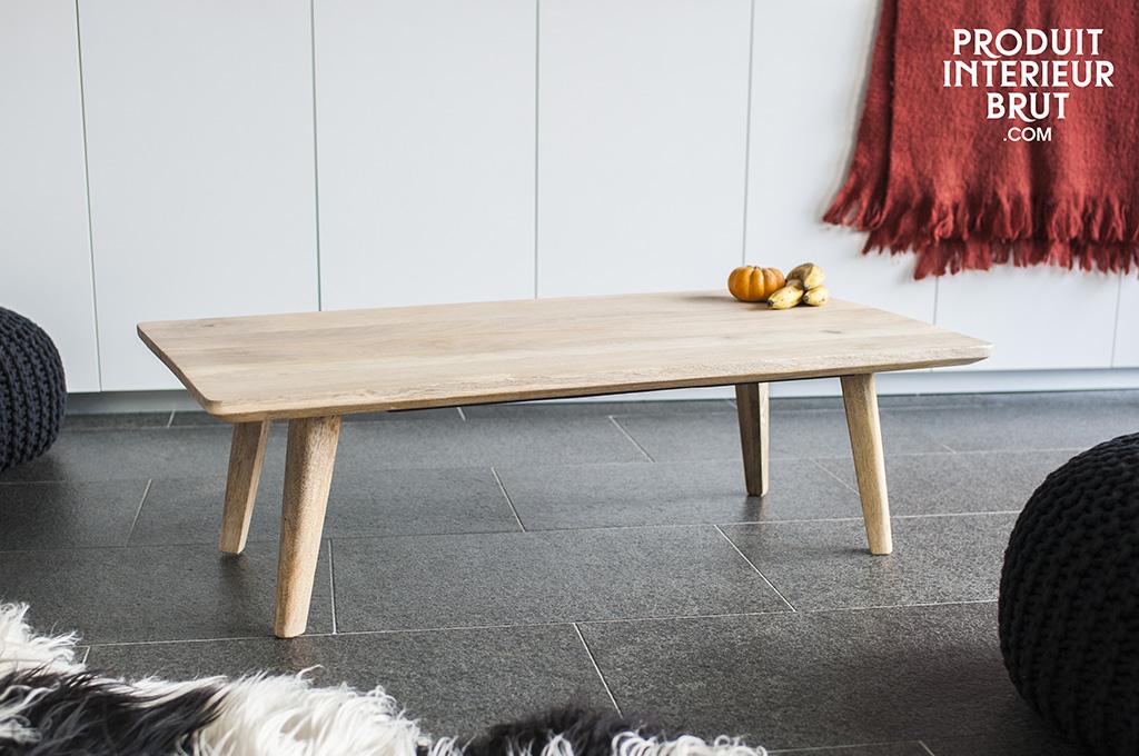 table basse m ka le style nordique s 39 invite dans votre salon. Black Bedroom Furniture Sets. Home Design Ideas