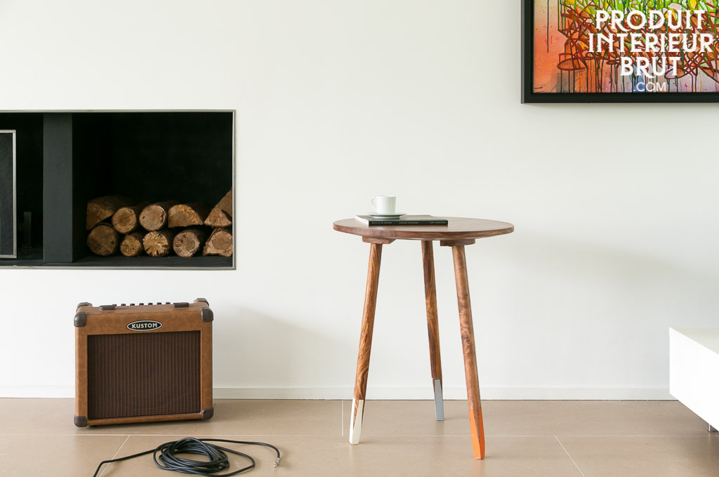 Table d 39 appoint pencil au c ur du style du mobilier - Table d appoint scandinave ...