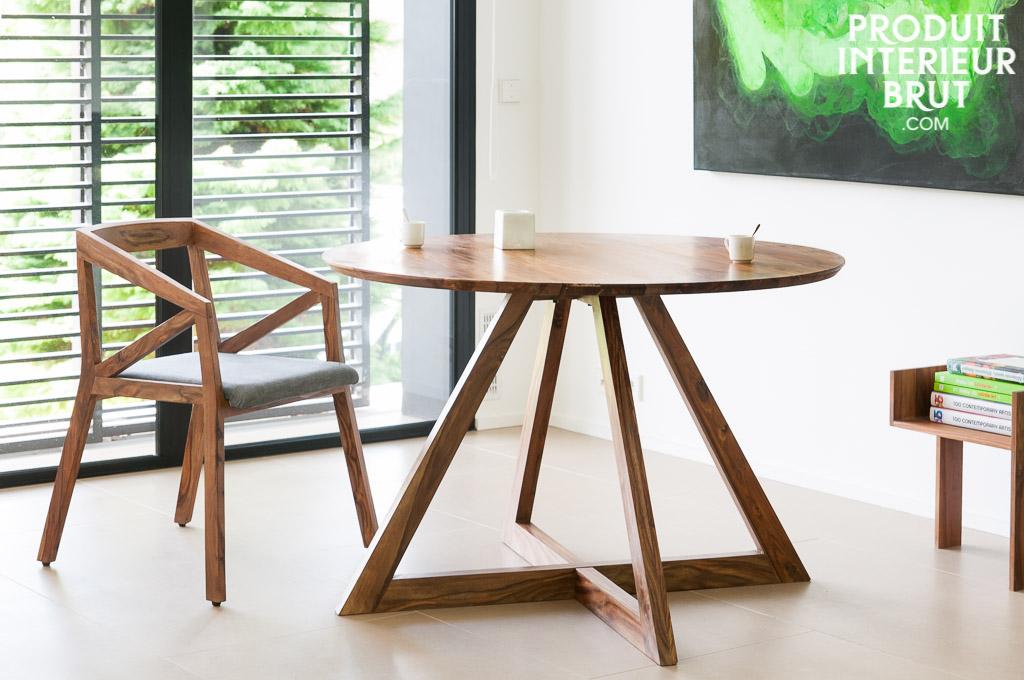 Acheter une table en bois style scandinave