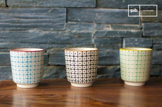 3 tasses à café Brüni