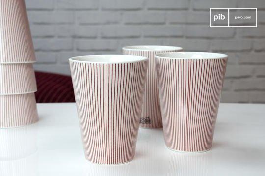 6 gobelets Teli