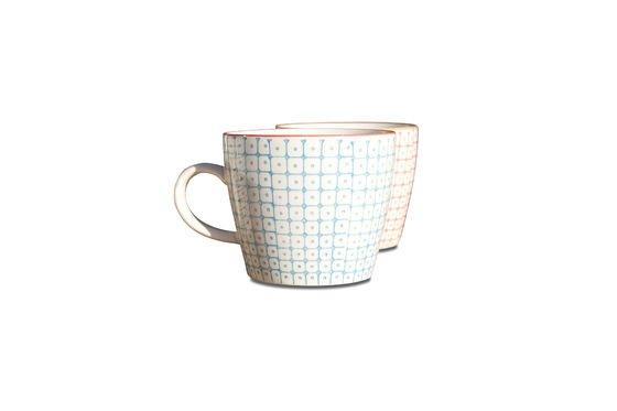 6 mugs en porcelaine Brüni Détouré
