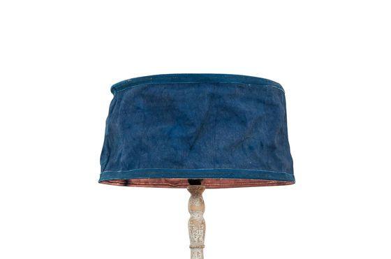 Abat-jour Victoria bleu 45cm Détouré