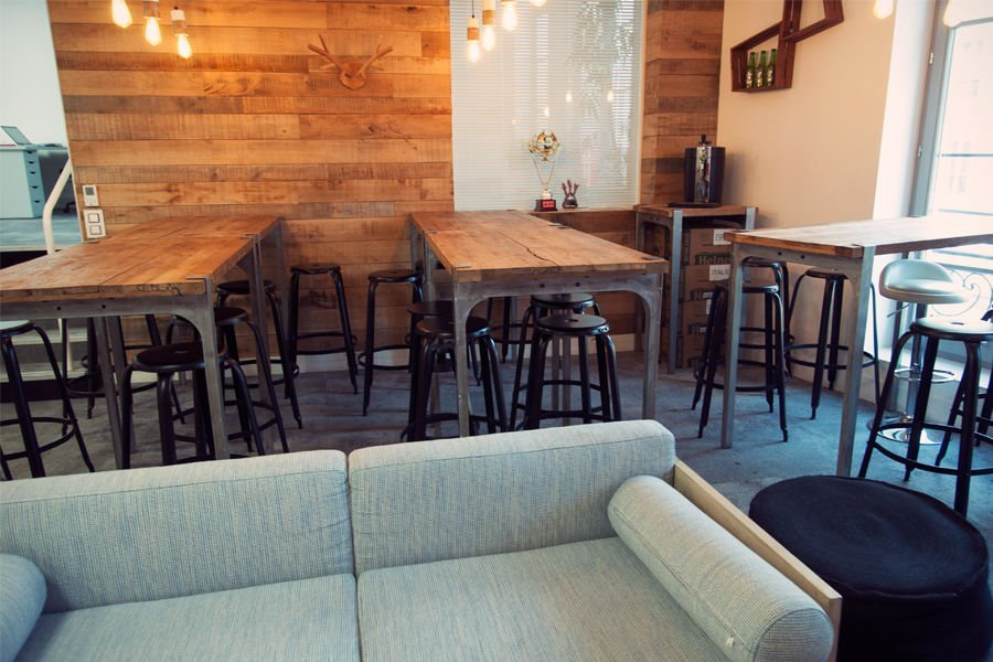 salle à manger avec meubles pib