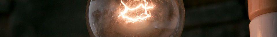 Mise en avant matière Ampoule déco Edison 25 Watts