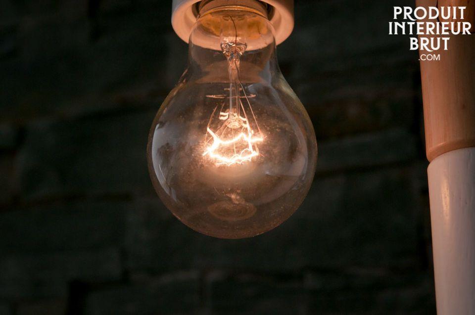 Filament long pour une belle luminosité style rétro
