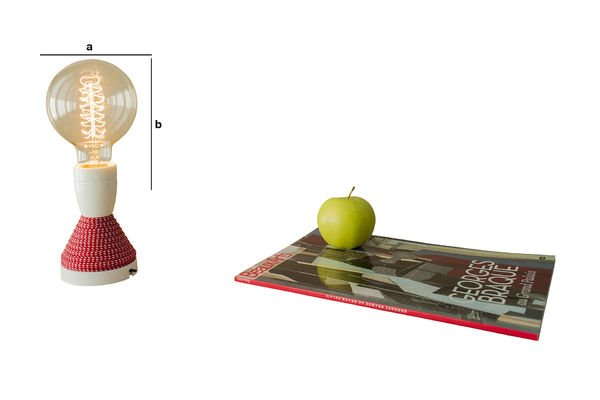 Dimensions du produit Ampoule Décorative Boule