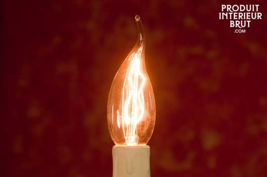 Ampoule Flamme à filament long