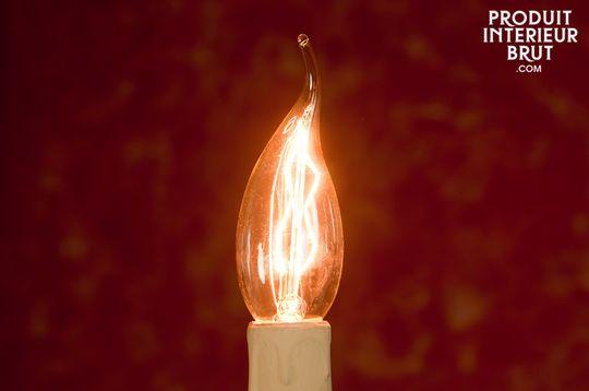 Ampoule Flamme à filament long