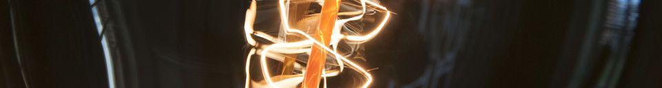 Mise en avant matière Ampoule géante à filament long