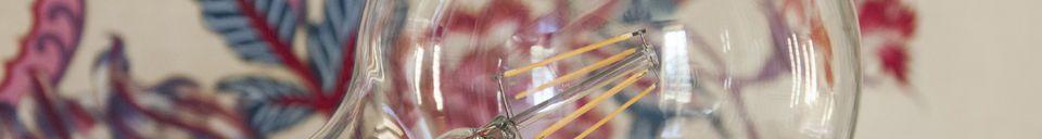 Mise en avant matière Ampoule Led 13cm façon ancien filament