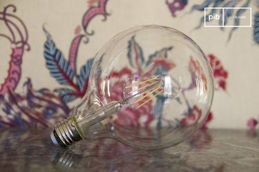 Ampoule Led 13cm façon ancien filament