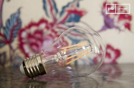 Ampoule Led 6cm façon ancien filament