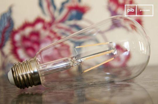 Ampoule Led longue façon ancien filament