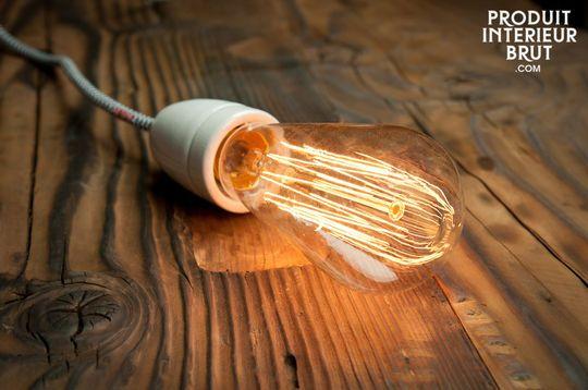 Ampoule rétro à filament long