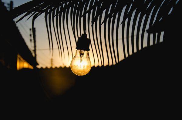 Ampoule vintage d'extérieur