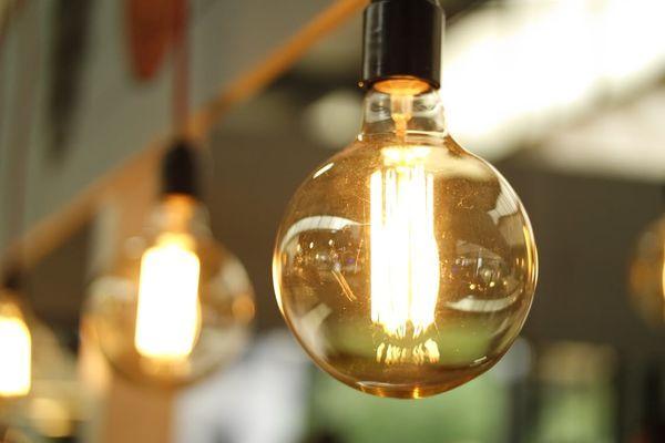 Ampoule vintage ronde