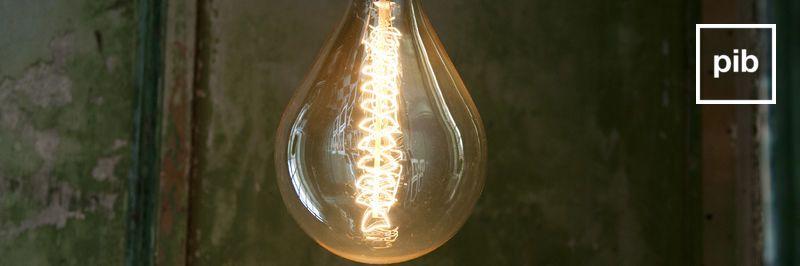 Ampoules style vintage