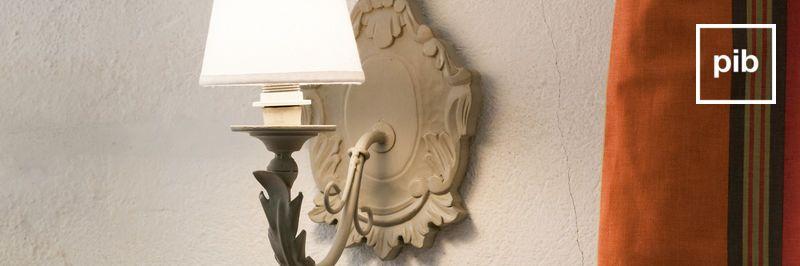 Ancienne collection de appliques baroque campagne