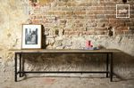 Ancienne collection de banc design style industriel