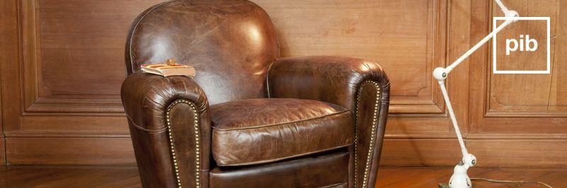 Ancienne collection de fauteuil club