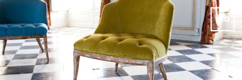 Ancienne collection de fauteuil retro