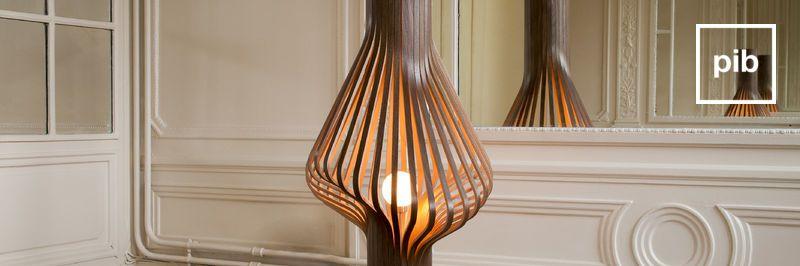 Ancienne collection de lampadaire baroque & liseuses style bohème