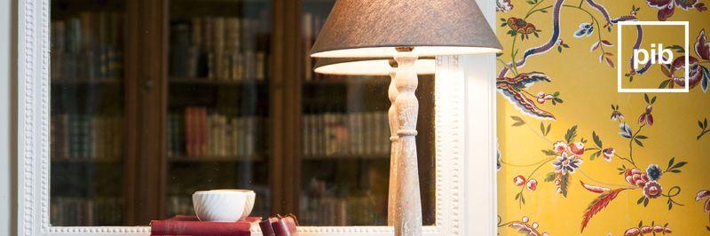 Ancienne collection de lampes de table baroque & bohème