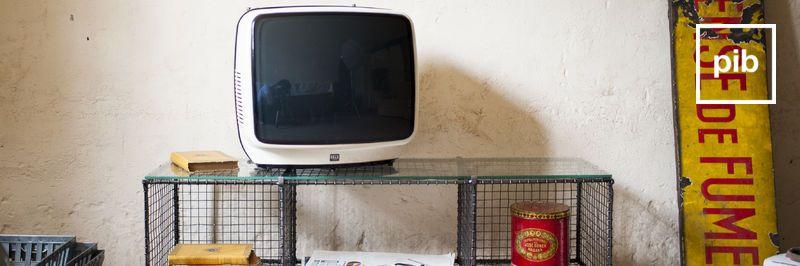 Ancienne collection de meuble tv industriel