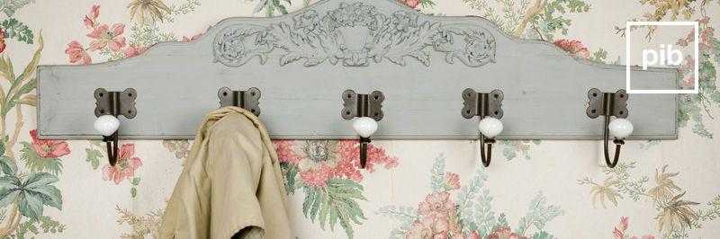 Ancienne collection de patère style ancienne & porte manteaux