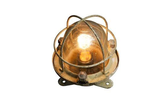 Ancienne lampe de paquebot Détouré