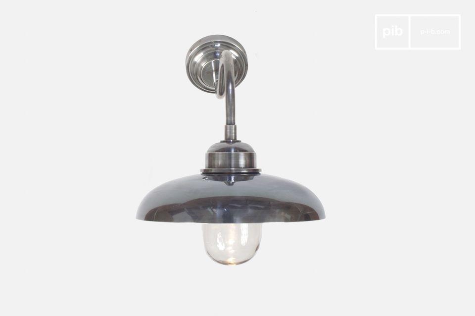 Applique tanche col de cygne pib for Luminaire exterieur etanche