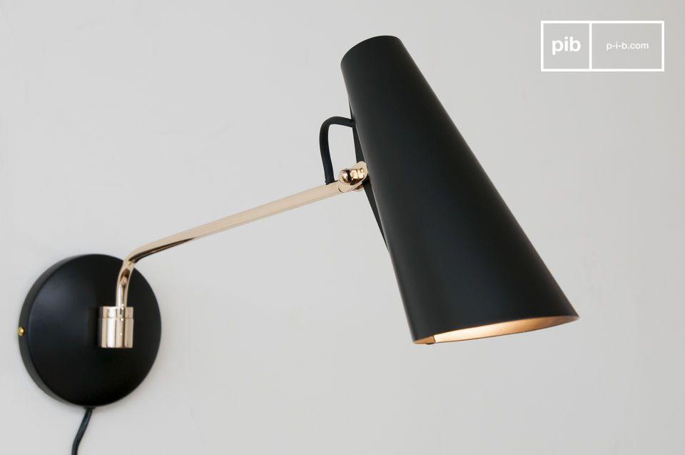 Une lampe design au style vintage délicieux