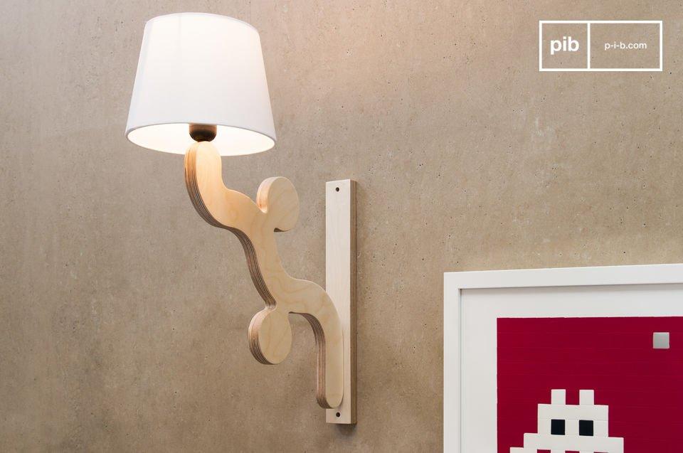 L\'applique Rholl est un luminaire qui apportera une touche originale et ludique à votre intérieur