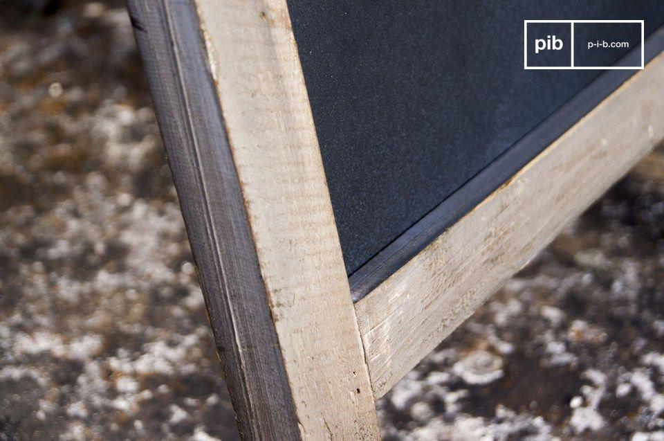 L\'ardoise porte-menu Nîmes est un superbe accessoire de déco brocante très tendance qui vous