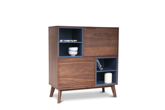 armoire en bois catzi elegance et inspiration retro pib. Black Bedroom Furniture Sets. Home Design Ideas