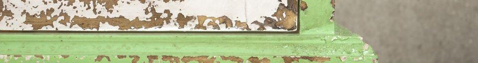 Mise en avant matière Armoire murale Bohème