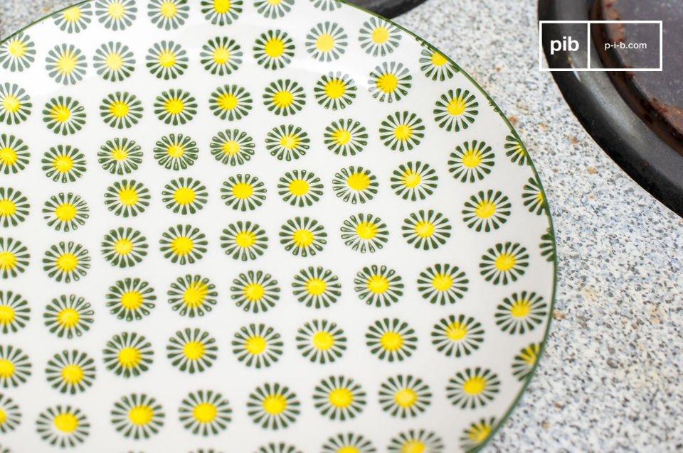 Le charme de la vaisselle au style retro
