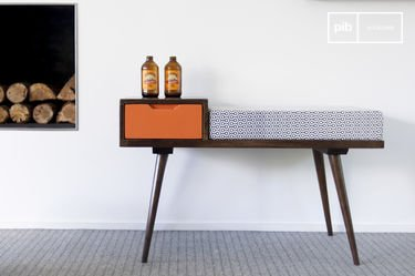 banquette sensila un canap d licieusement r tro pib. Black Bedroom Furniture Sets. Home Design Ideas