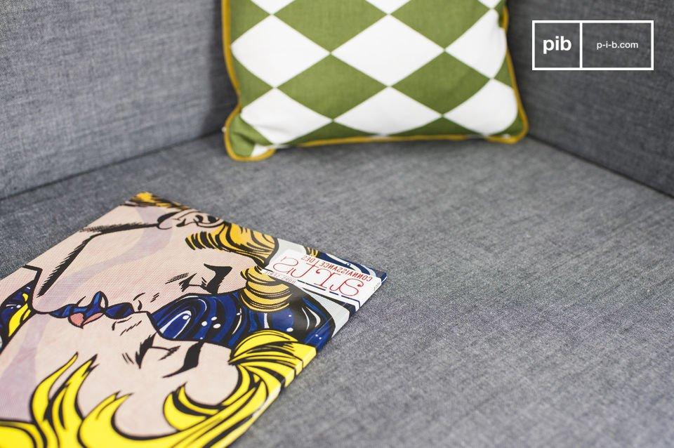 La banquette Sensilä est un meuble d\'assise qui apportera une touche scandinave vintage à votre