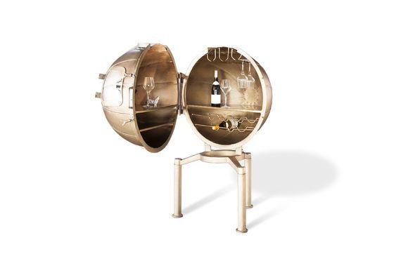 Bar globe Jules Vernes Détouré