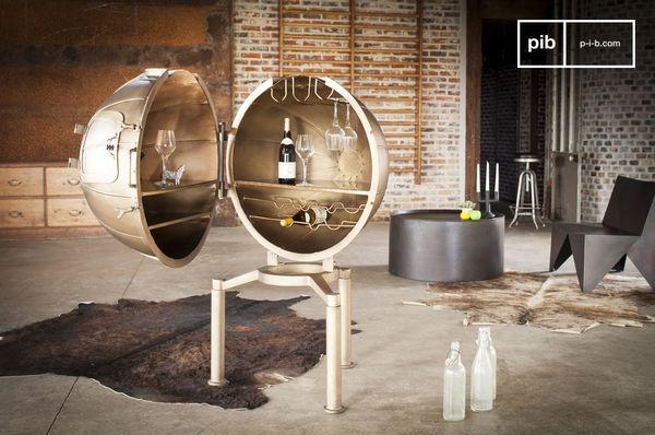 Bar Globe Jules Vernes metal