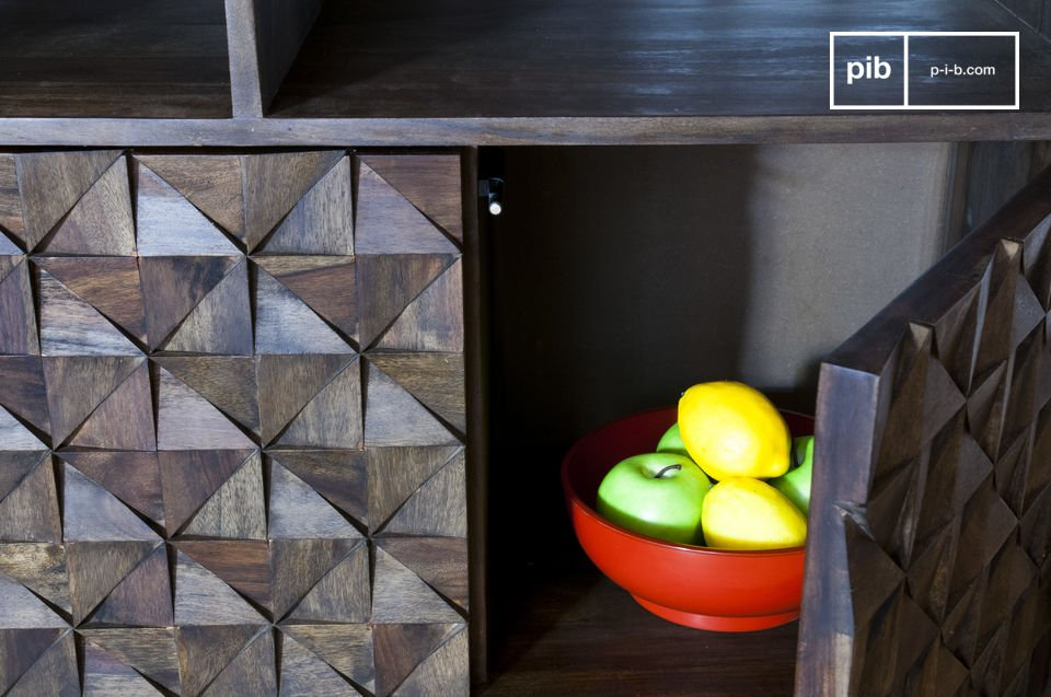 Reliefs géométriques pour un rendu 100% vintage