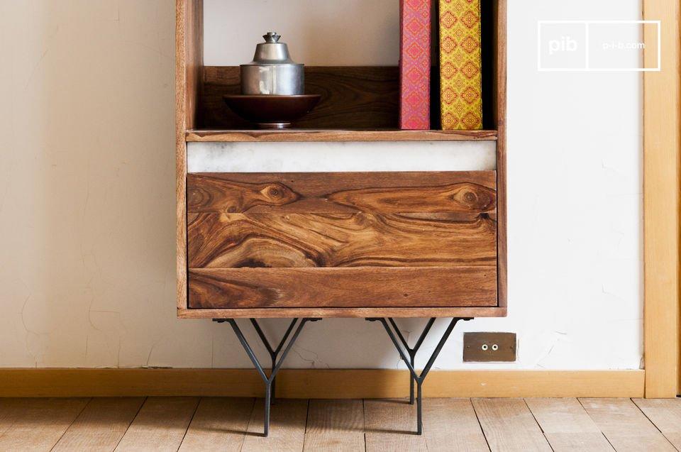 A ce titre, ce meuble bois massif constituera un élément de décoration phare dans une pièce
